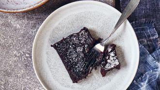 Vegan brownies / sojasausbrownies