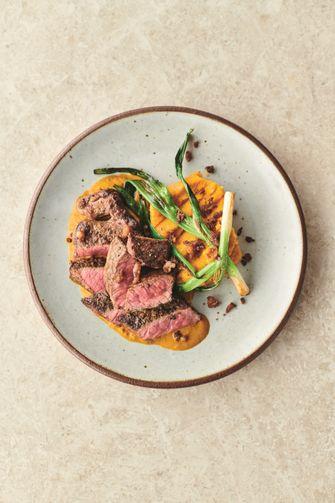 Steak en rode chimichurri