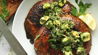 Portobello steak