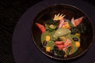 Groene curry van Taiko