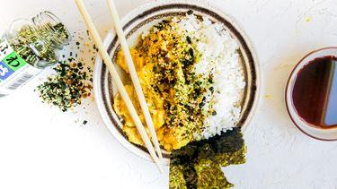 Japanse rijstbowl