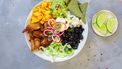 Mexicaanse lunchbowl