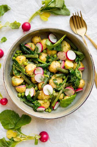 Aardappelsalade lenterecept