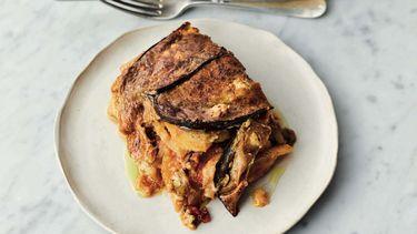 Vegetarische moussaka Jamie Oliver