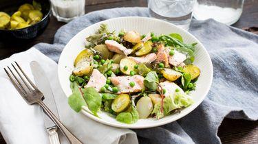 aardappelsalade / gerechten met yoghurt