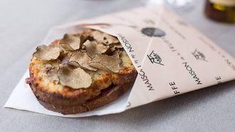 croque monsieur met truffel