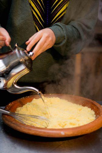 Couscous stomen