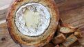 Camembert in een brood
