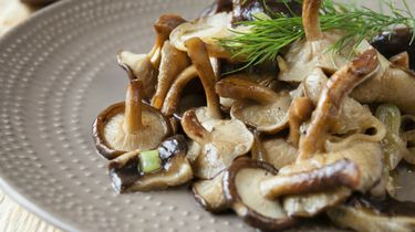 paddenstoelen, bijgerechten