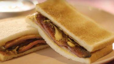 Bacon sandwich van Heston Blumenthal