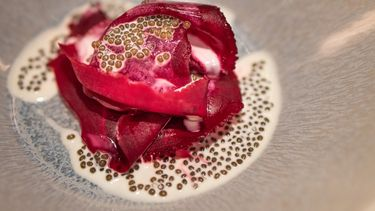 Signature dish Mirazur x RIJKS