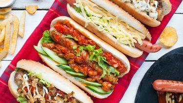 Hotdog toppings