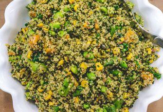 Deliciously Ella quinoa