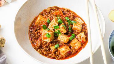Mapo tofu een pittig Chinees gerecht