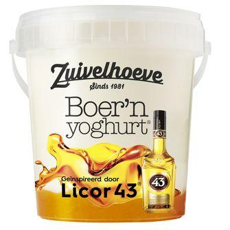 Zuivelhoeve Boer'n yoghurt Licor 43