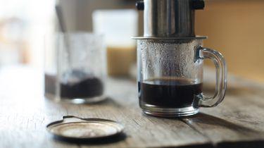 Vietnamese koffie en ijskoffie