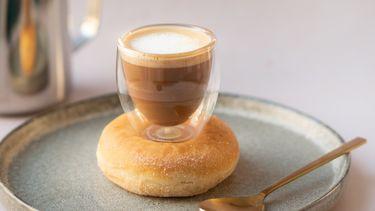 Donut-koffie