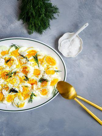 eitjes met citroen