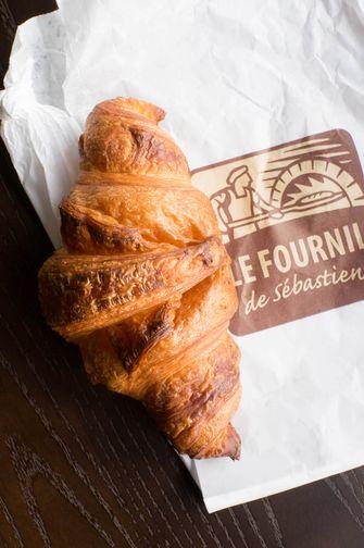 Croissant van Le Fournil
