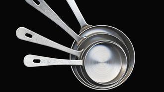 Afbeelding van cups naar grammen omrekenen