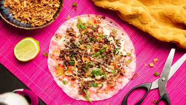 Vietnamese pizza recept (Bánh Tráng Nuong)