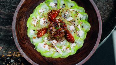 Carpaccio van broccolistronk