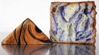 vierkante croissants Baker Doe