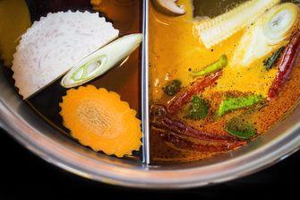 Chinese hotpot bouillon