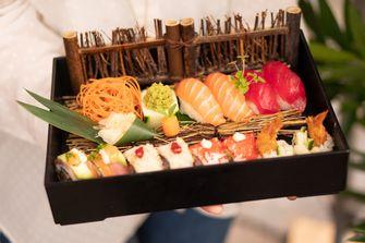 Sushi bij Kampai in Amsterdam