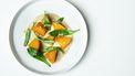 Gele biet met vlierbloesem / Afhalen bij Café Binnenvisser