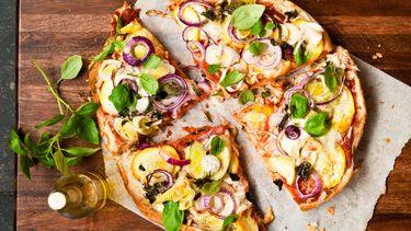 Pizza van Turks brood