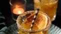 winterse cocktail met sinaasappel