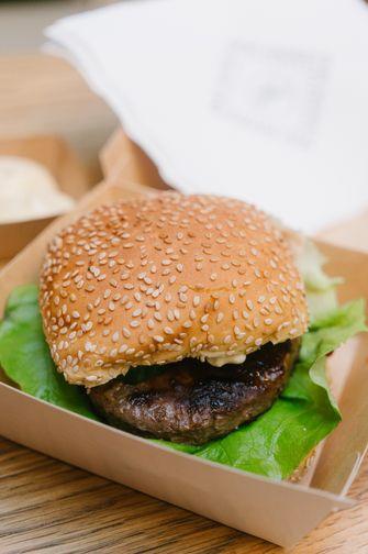 Friet District burger