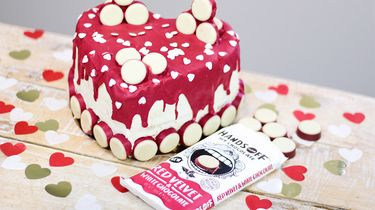 Red Velvet valentijnstaart