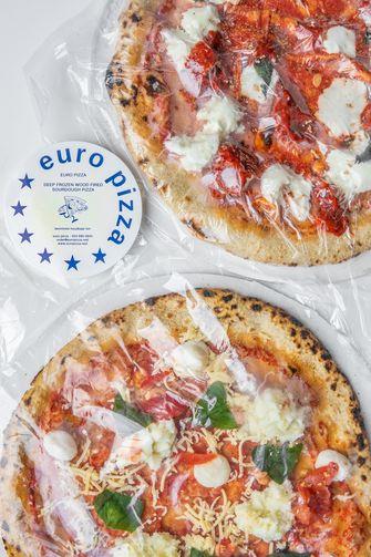 Diepvriespizza's van Euro Pizza