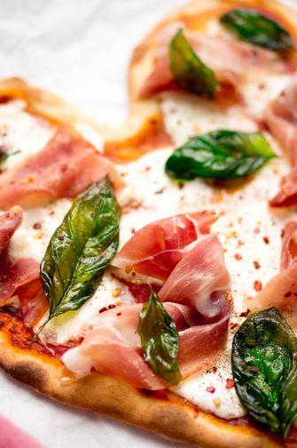 Valentijn pizza