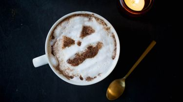 Warme chocolademelk Halloween recept