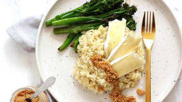 Risotto met brie