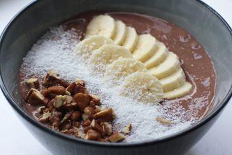 chocolade smoothiebowl