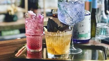 Rose Rouge cocktails