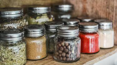 voorraadkast met handige ingrediënten