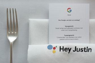 Google diner met Ron Blaauw