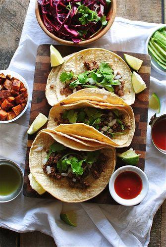 taco's met vulling