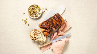 Babka met chocolade en pistache voor Pasen van Crisp