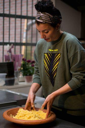 Couscous bereiden met Nadia Zerouali
