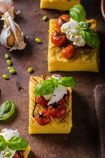 gegrilde polenta
