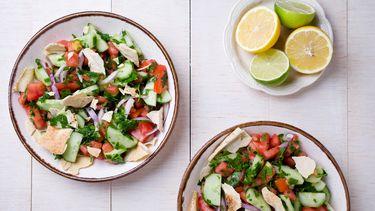 stock Salad Fattoush
