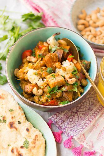 tikka masala vegetarische curry