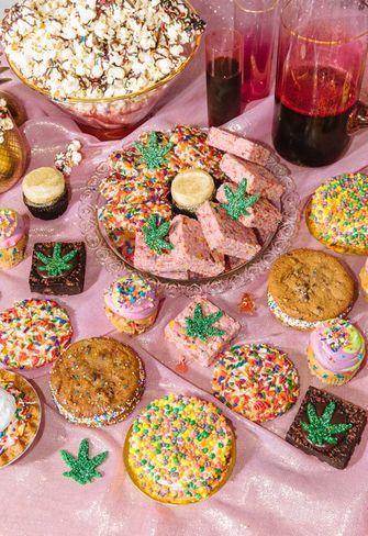 Feelz by Chloe: een menu met CBD-infused baksels