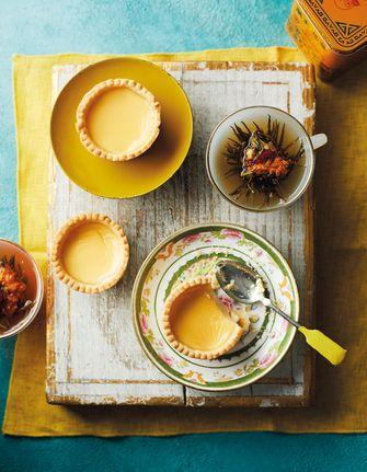 Chinese custardtaartjes recept